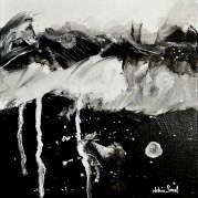 """Bestiaire III"" -  acrylique sur toile 20x20 - HZ 575"