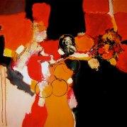 """Marilyn II"" - acrylique s toile - 100x81 -HZ 05"